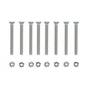 Complete set of screws & nuts for pvc bed